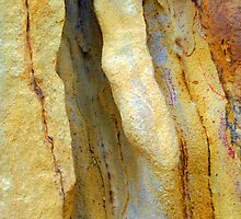 Sandstone Ripples by Bev Woodman