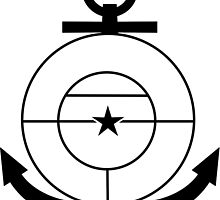 Roundel of the Colombian Naval Aviation (low visibility) by abbeyz71