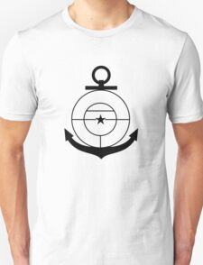 Roundel of the Colombian Naval Aviation (low visibility) T-Shirt