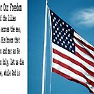 The Reason For Our Freedom by Marie Sharp