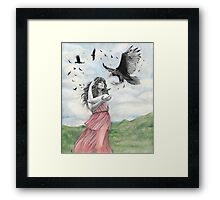 Sisters of the Sun Framed Print