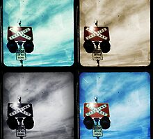 Crossing Polyptych by Jules Campbell