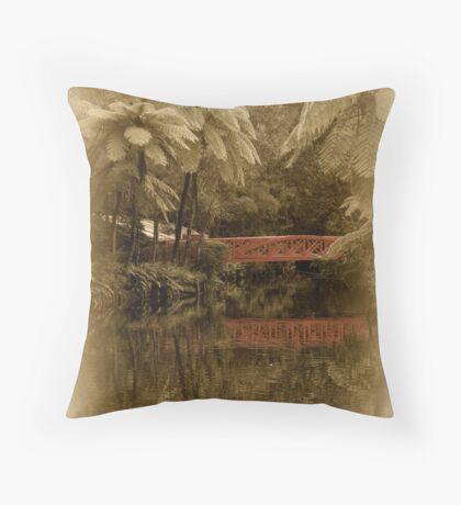 Nostalgia Pacifica Throw Pillow