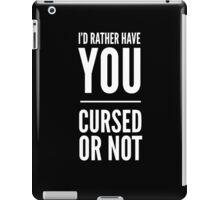 Cursed or Not. iPad Case/Skin