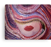 CARNIVAL Contemporary portrait Oil painting Canvas Print