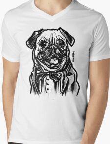 Pug Life = Thug Life Mens V-Neck T-Shirt
