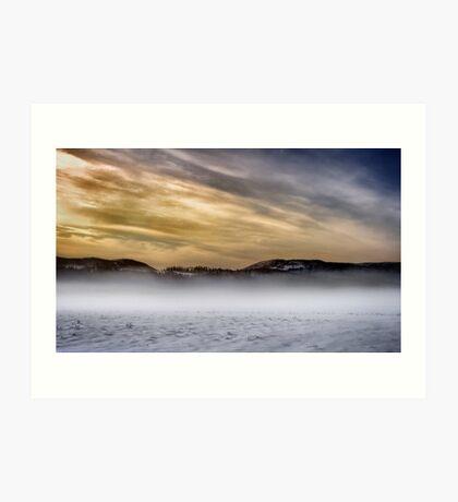White Desert Art Print