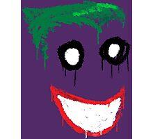 Joker Graffiti Photographic Print