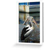 Doubles. Greeting Card
