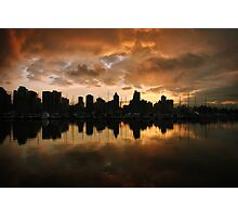 Sunset on Vancouver Photographic Print