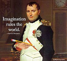 Imagination Rules the World by EyeMagined