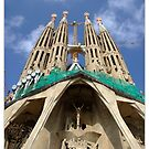 Sagrada Familia II by Susan Dailey