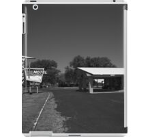 Route 66 - Western Motel iPad Case/Skin