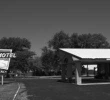 Route 66 - Western Motel Sticker
