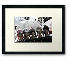 Never Rains... Framed Print