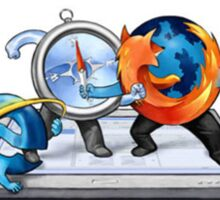The Browser Wars Sticker