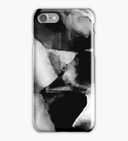 Psychmaster Wolf 101 BW iPhone Case/Skin