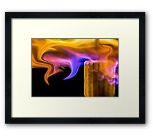 Exotic Flame Framed Print