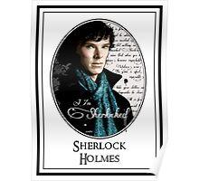 Benedict Cumberbatch, Sherlock Holmes - I Am Sherlocked Poster