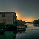 Sunset at Peggy's Cove II by kenmo