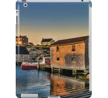Sunset at Peggy's Cove III iPad Case/Skin