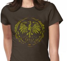 Polish Eagle Circle t shirt Womens Fitted T-Shirt