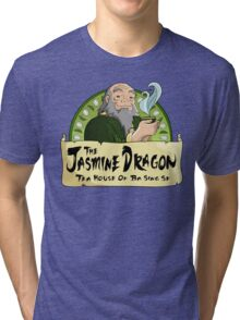 The Jasmine Dragon Tea House Tri-blend T-Shirt
