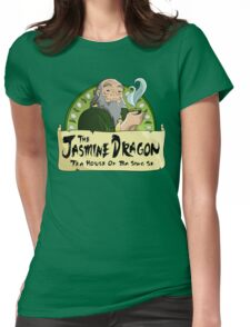 The Jasmine Dragon Tea House Womens Fitted T-Shirt