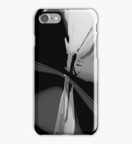 Psychmaster Cityflower 101 BW iPhone Case/Skin