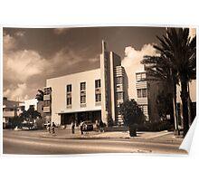 Miami Beach - Art Deco Poster