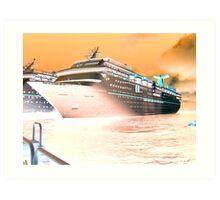 Fantasy Cruiser Art Print