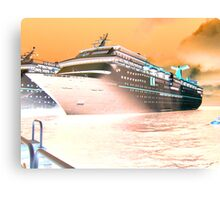 Fantasy Cruiser Canvas Print