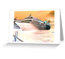 Fantasy Cruiser Greeting Card