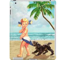 Coppertone Girl iPad Case/Skin