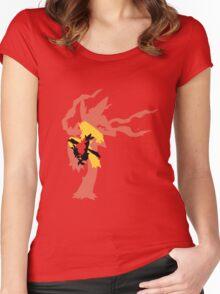 Mega Blaziken Evolution line Women's Fitted Scoop T-Shirt