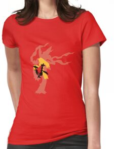 Mega Blaziken Evolution line Womens Fitted T-Shirt