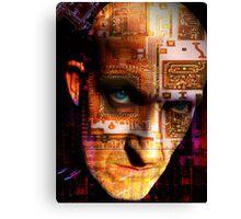 Techno Ghost Canvas Print