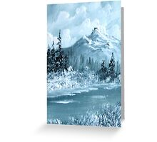 ACEO Morning Mist Greeting Card