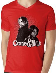 Crane & Mills Mens V-Neck T-Shirt