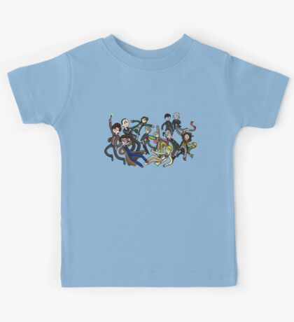 Adventure Time For Doctor Who Kids Tee