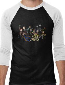 Adventure Time For Doctor Who Men's Baseball ¾ T-Shirt