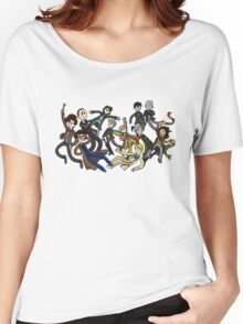 Adventure Time For Doctor Who Women's Relaxed Fit T-Shirt