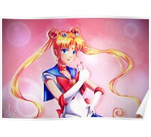 Pretty Guardian Sailor Moon Poster