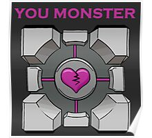 You Monster (dark) Poster