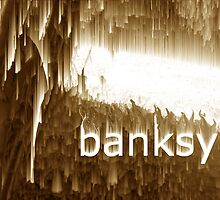 stalactite banksy by benpeluffo