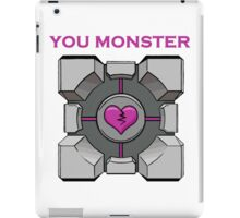 You Monster (white) iPad Case/Skin