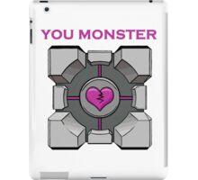 You Monster (white) iPad Case/Skin