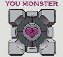 You Monster (white) by DeGrootArt