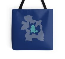 Blastoise Evolution Tote Bag