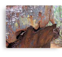 Rusted hopper Canvas Print